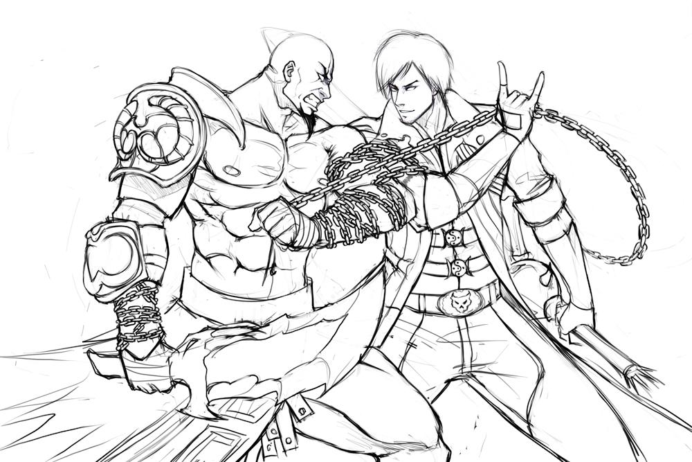 1000x667 Dante Vs Kratos