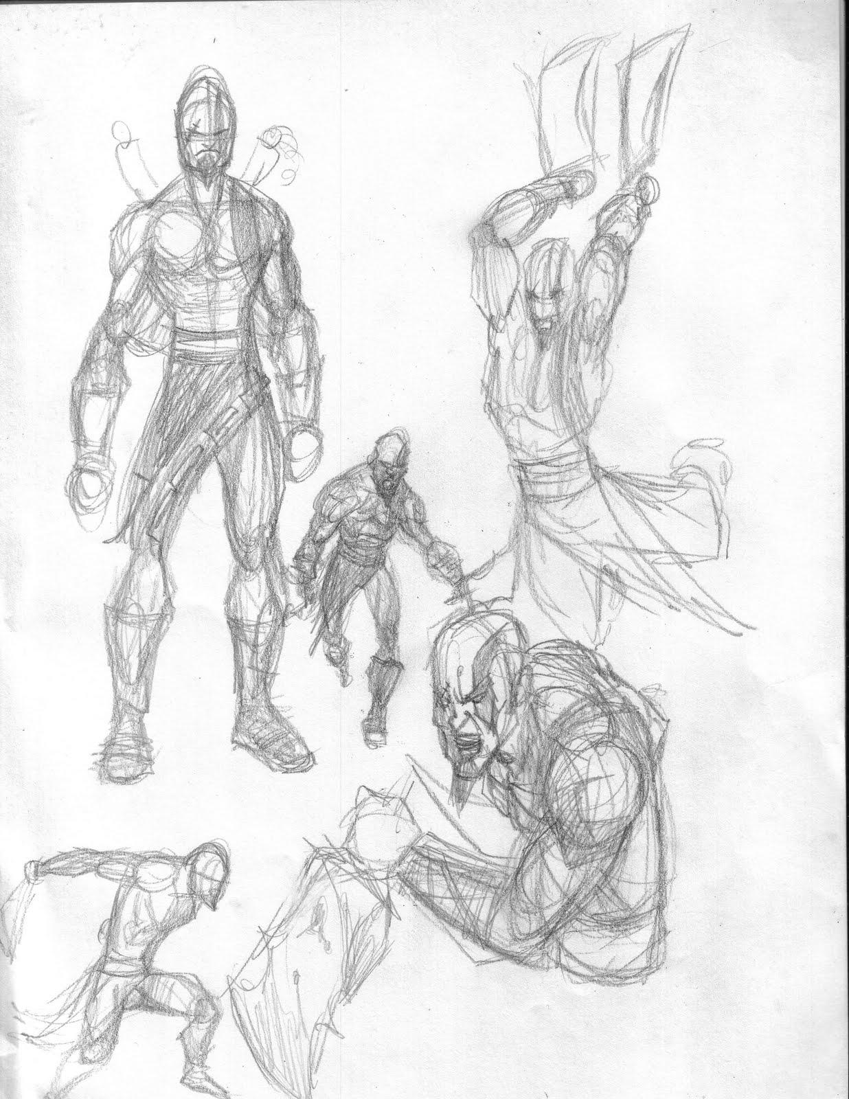 1236x1600 Joe Disturbed! Draw A Character This Week .kratos!!