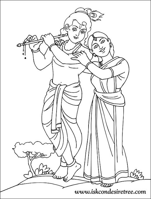 486x640 Radha And Krishna Pencil Sketches A Mythology Blog