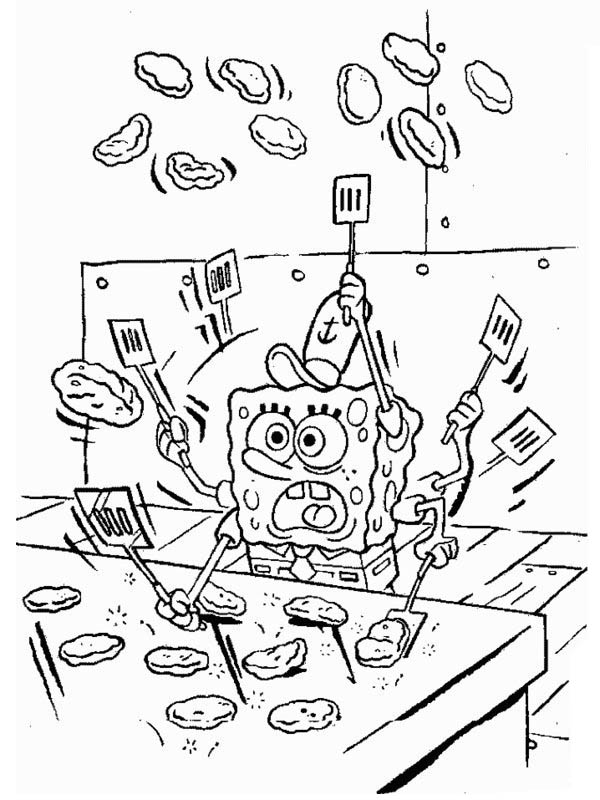 krusty krab coloring pages - photo#5