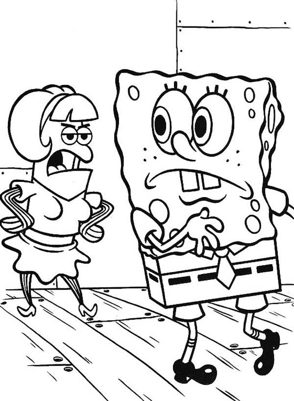 krusty krab coloring pages - photo#28