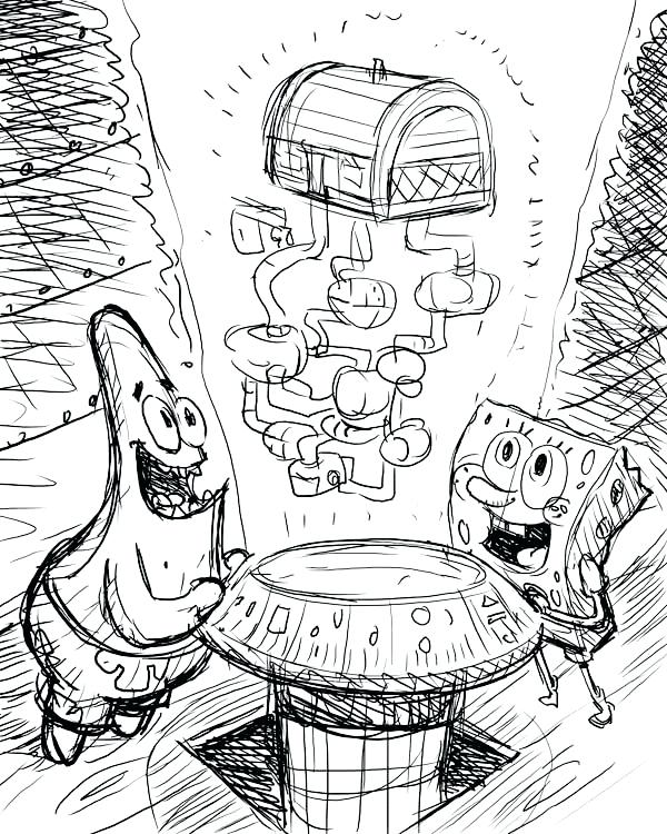 Krusty Krab Drawing at GetDrawings.com | Free for personal use ...