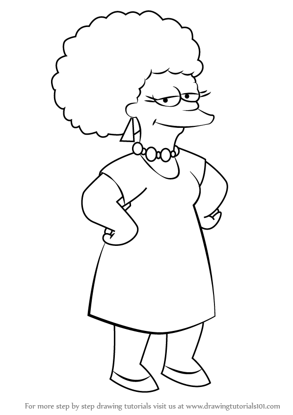 597x844 The Simpsons Drawing Tutorials