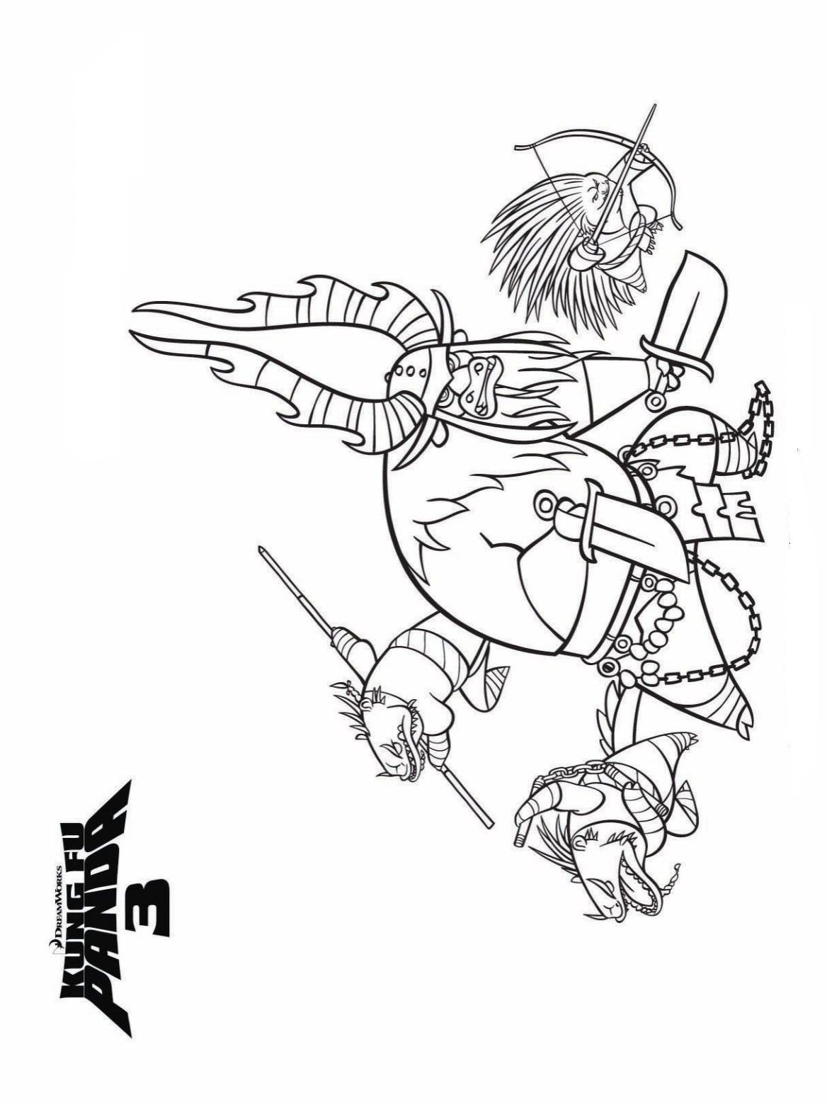 1168x1560 Kids N 7 Coloring Pages Of Kung Fu Panda 3