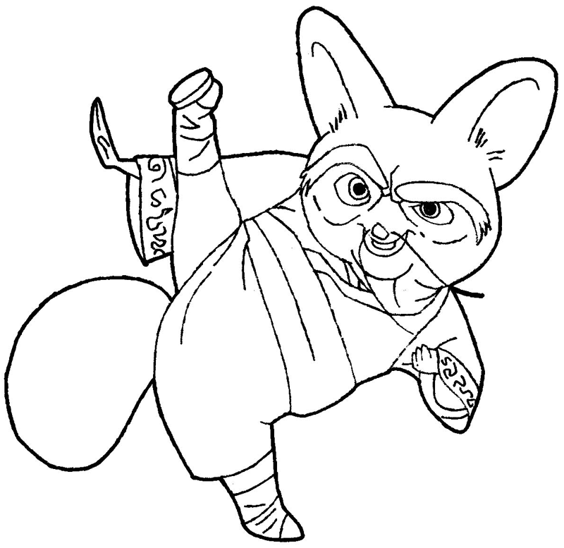 Kung Fu Panda Drawing at GetDrawings.com | Free for personal use ...