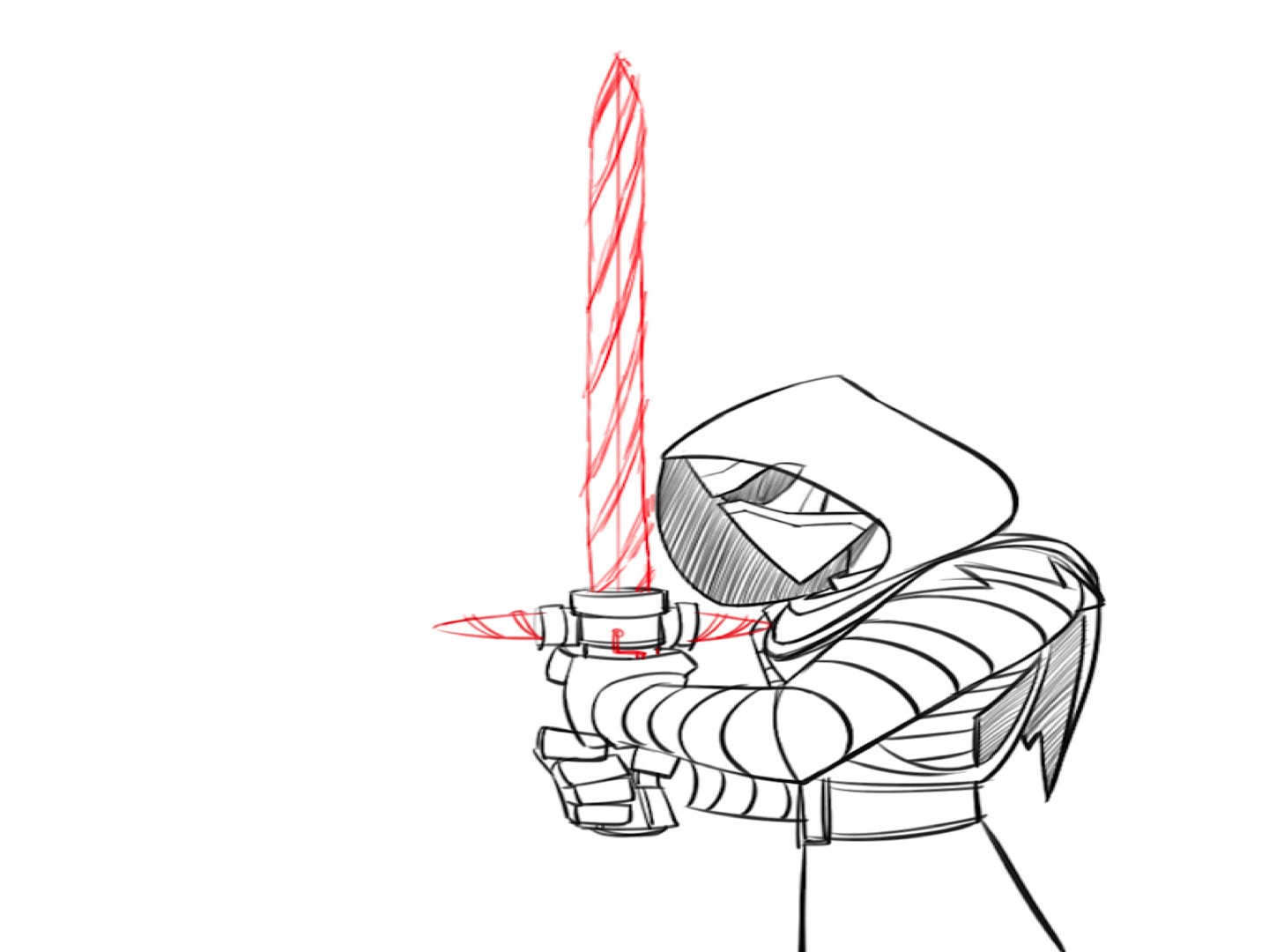 1440x1080 Art Class Sunday Learn How To Draw Kylo Ren Disney Infinity Style