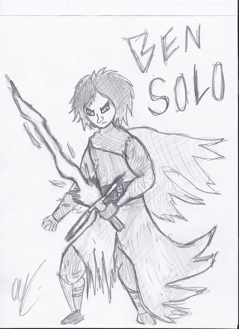 762x1048 Ben Solokylo Ren Drawing By Darthrew43
