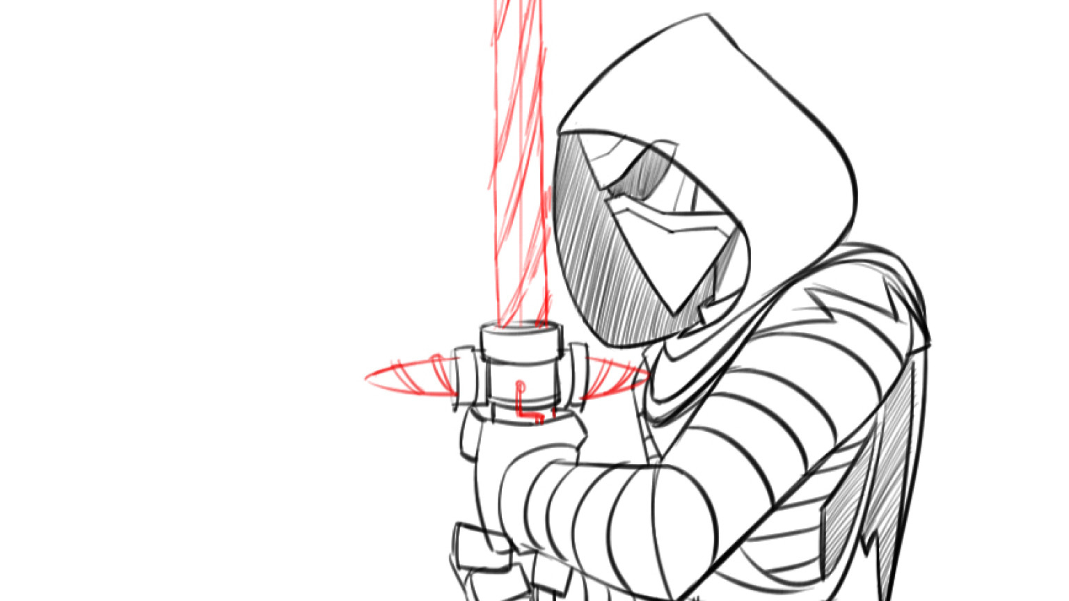 1536x864 Drawing Of Star Wars How To Draw Kylo Ren, Disney Infinity Style