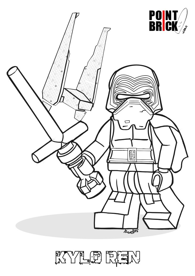 744x1052 Kylo Ren Coloring Pages Ninjago Captain Phasma Coloring Pages