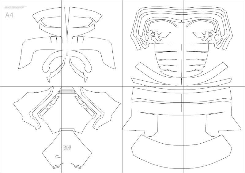 800x566 Star Wars Kylo Ren Costume Helmet Diy