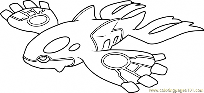 671x306 Kyogre Pokemon Coloring Pages Tags Kyogre Coloring Pages How