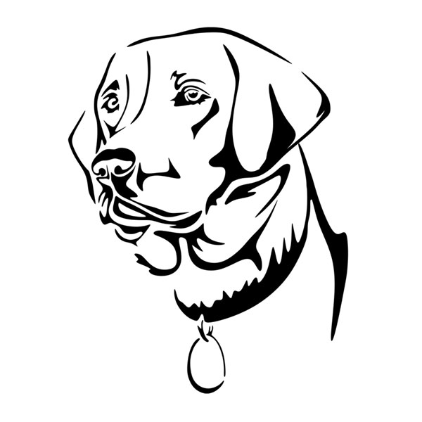 600x600 Labrador Dog Lab Svg Cuttable Designs