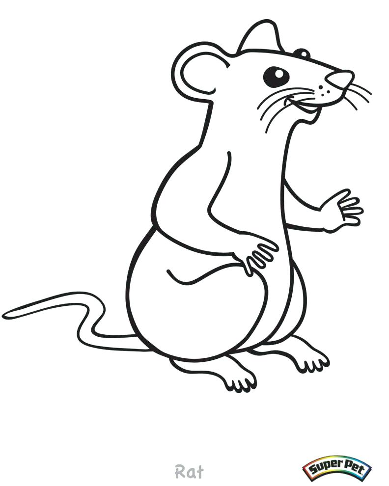 792x990 Lab Rats Coloring Pages 1965