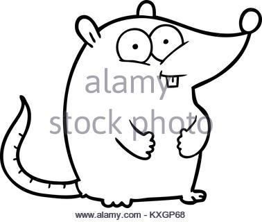 378x320 Freehand Retro Cartoon Mouse Stock Vector Art Amp Illustration