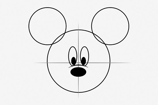 550x367 Draw Mickey Mouse Mickey Mouse, Mice And Drawings