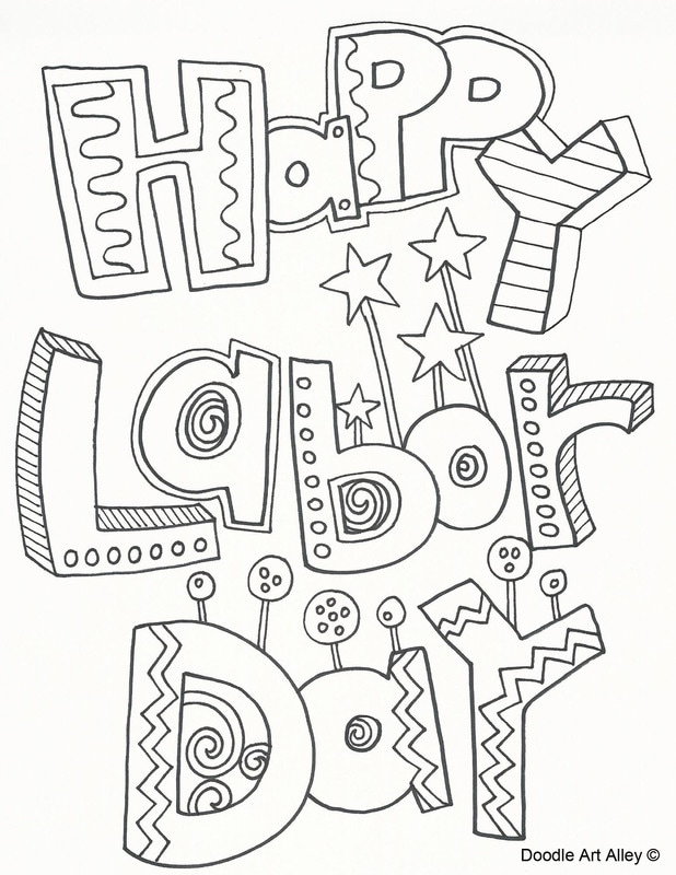 618x800 Labor Day Coloring Pages
