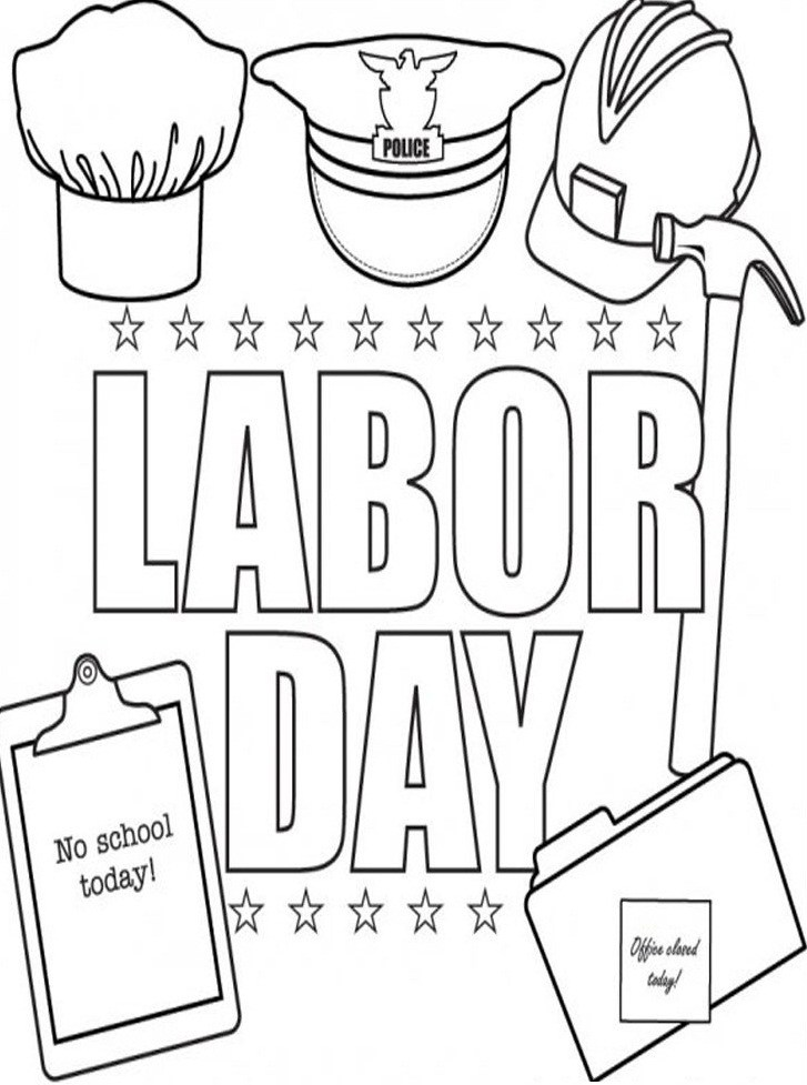 727x977 Labor Day Coloring Pages Printable Gianfreda 639724
