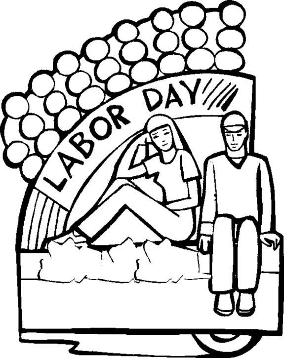 575x725 Free Labor Day Clipart