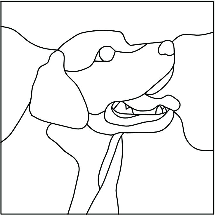 736x736 Labrador Retriever Coloring Pages Retriever Dog Cartoon