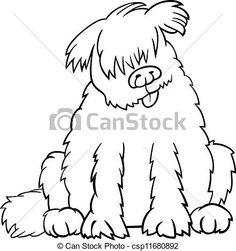 236x251 Newfoundland Dog Dog Drawings Pictures Dog