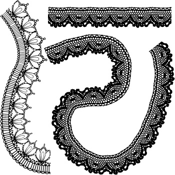 350x351 Lace Lace Pattern Vector 2 Free Vector 4vector