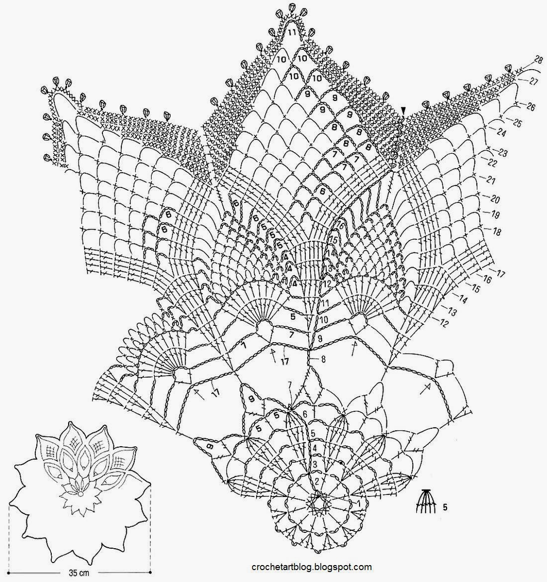 1100x1170 Crochet Art Crochet Pattern Of Gorgeous Doily