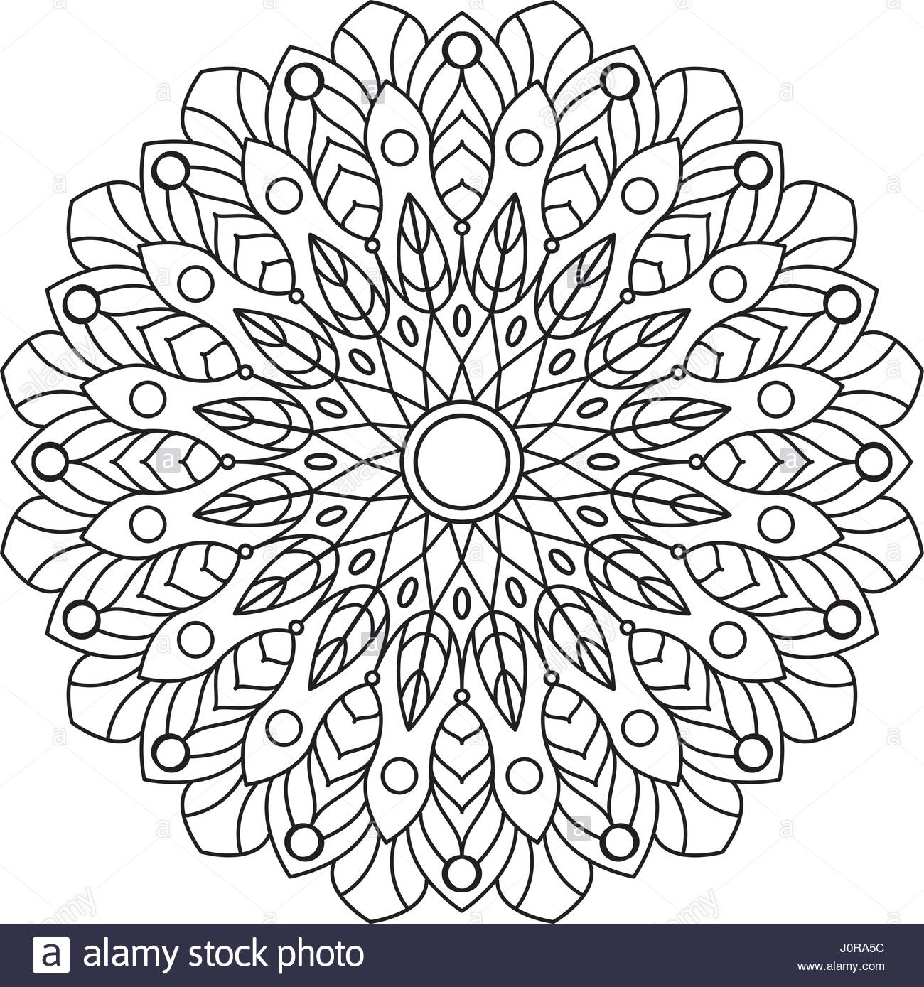 1300x1389 Coloring Book Mandala. Circle Lace Ornament, Round Ornamental