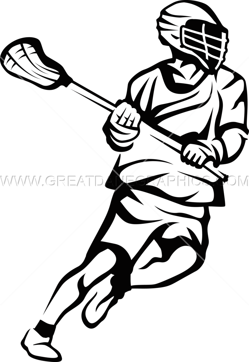 825x1201 Lacrosse Star Production Ready Artwork For T Shirt Printing