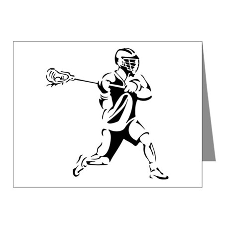 460x460 Lacrosse Thank You Cards Lacrosse Note Cards