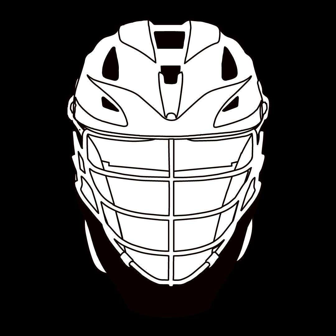 Lacrosse Helmet Drawing at GetDrawings.com | Free for ...