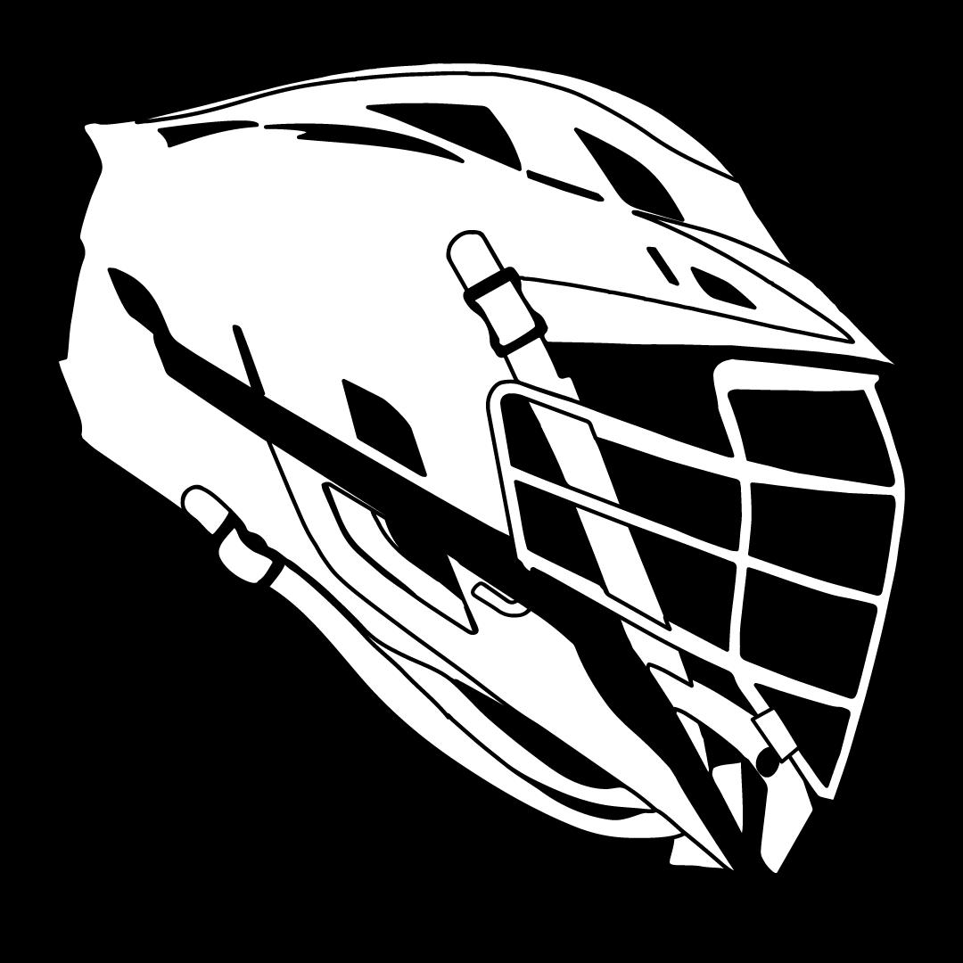 1080x1080 Drawn Helmet Lacrosse