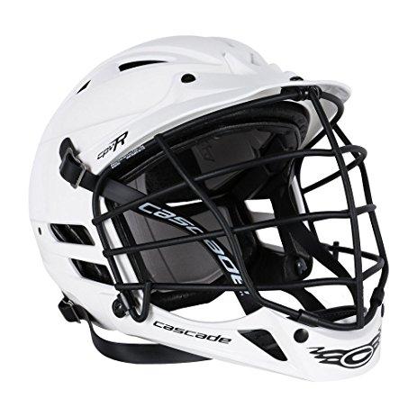 463x463 Cascade Cpvr Lacrosse Helmet With Matte Black Mask
