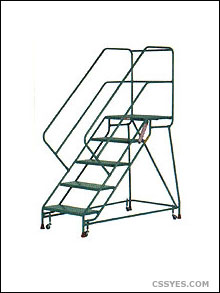220x293 Rolling Ladders In Stock, Mobile, Industrial Warehouse
