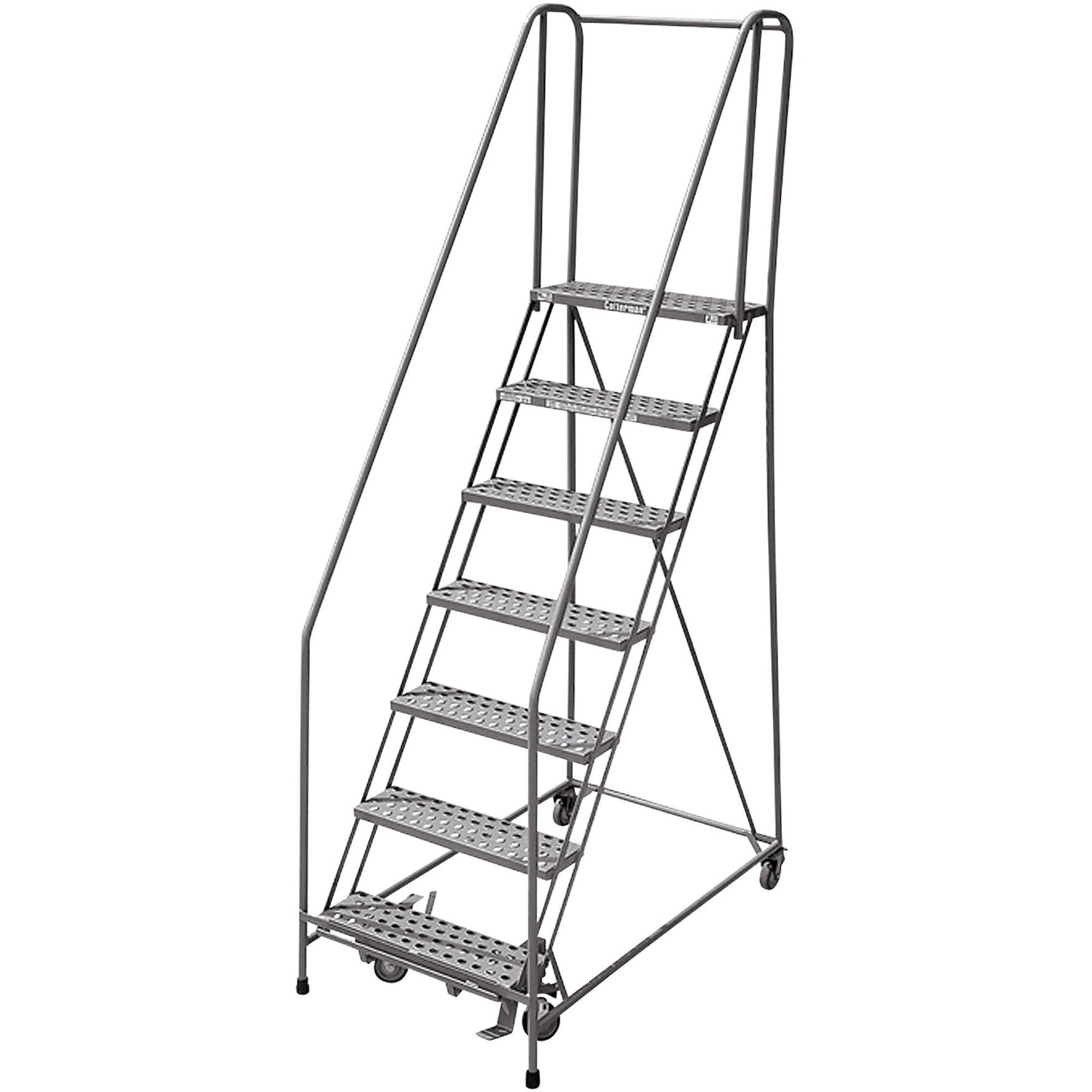 2000x2000 Cotterman (Rolling) Ladder 80in. Max. Height, Model  1008r2632a1