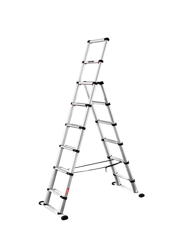 600x772 Telesteps Combi Line Aluminium Telescopic Step Extension Ladder