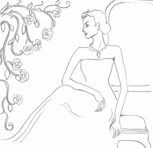 500x481 A Design A Day Day 274 (Jeweled Ladies 2) Joana Miranda Studio
