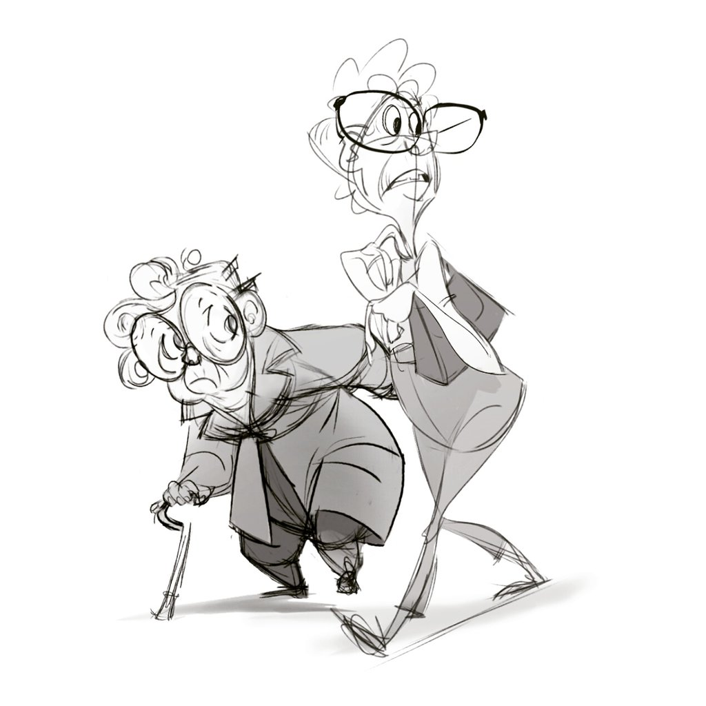 1024x1024 Old Ladies By Andybarry