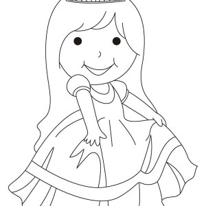 300x300 Drawing Beautiful Ladies Coloring Page Coloring Sun