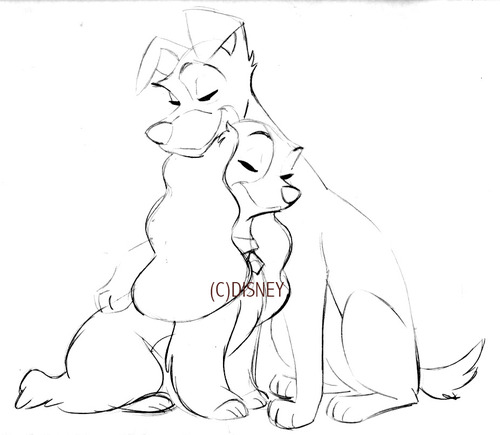 500x435 Lady And The Tramp