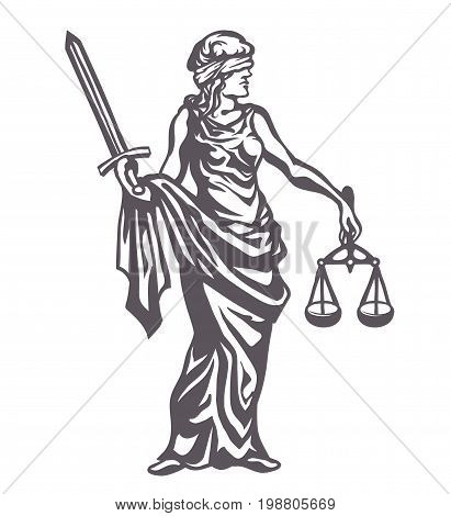 411x470 Lady Justice Images, Illustrations, Vectors