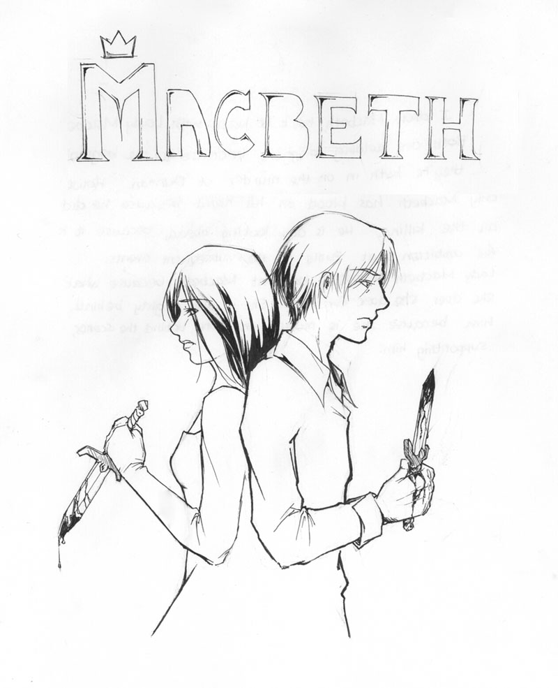 800x985 Macbeth Witches Drawing School Stuff Witch Drawing
