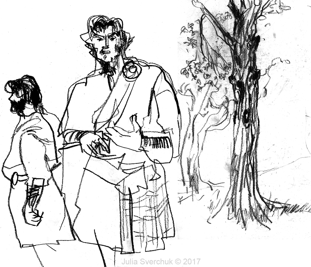 1008x864 Idrawing Macbeth By The New York Classical Theatre