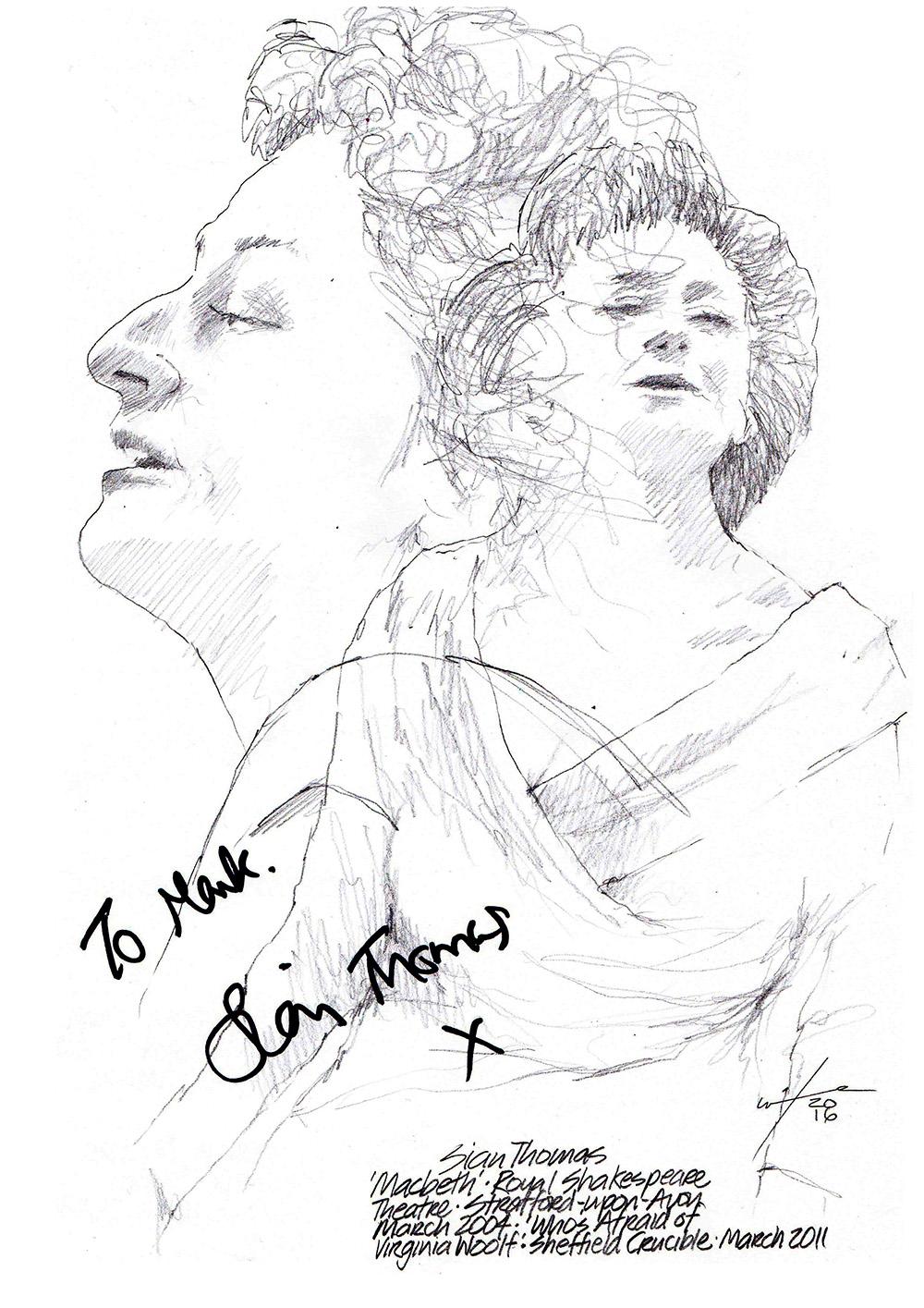1000x1415 Drawing Billy Boyd As Banquo In Macbeth
