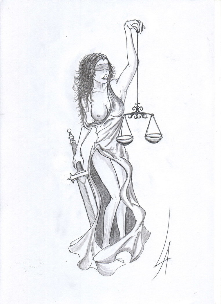 762x1047 Lady Justice Tattoo Tattoo Ideas