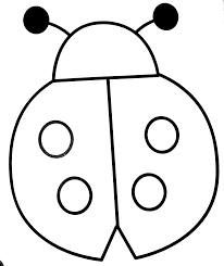 206x245 Image Result For Simple Lady Bug Template Nature Art