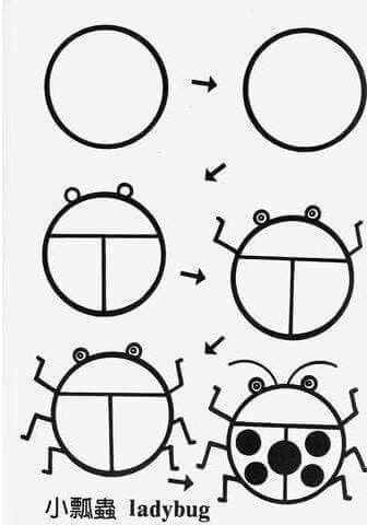 336x480 Lady Bug Crafty Crafts Lady Bugs, Draw And Doodles