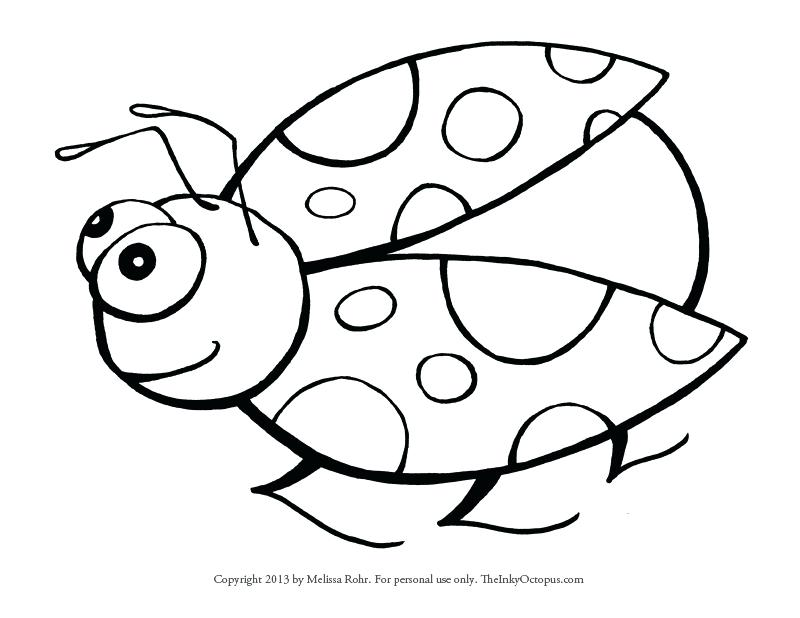 Ladybug Cartoon Drawing at GetDrawings.com | Free for personal use ...