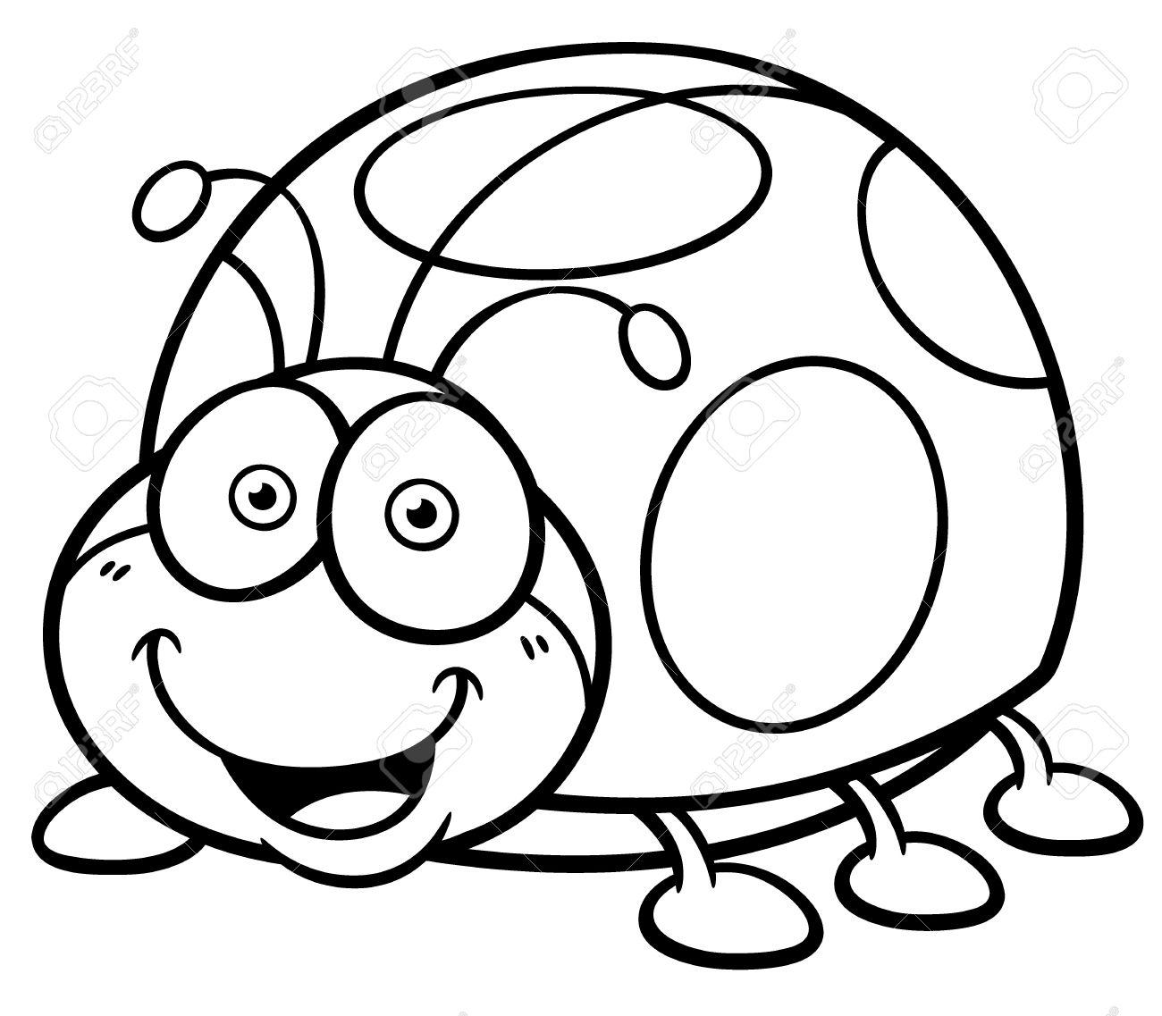 Ladybug Cartoon Drawing at GetDrawings | Free download