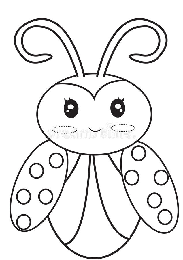 635x900 Unique Ladybug Coloring Pages 33 For Fee With Ladybug Coloring
