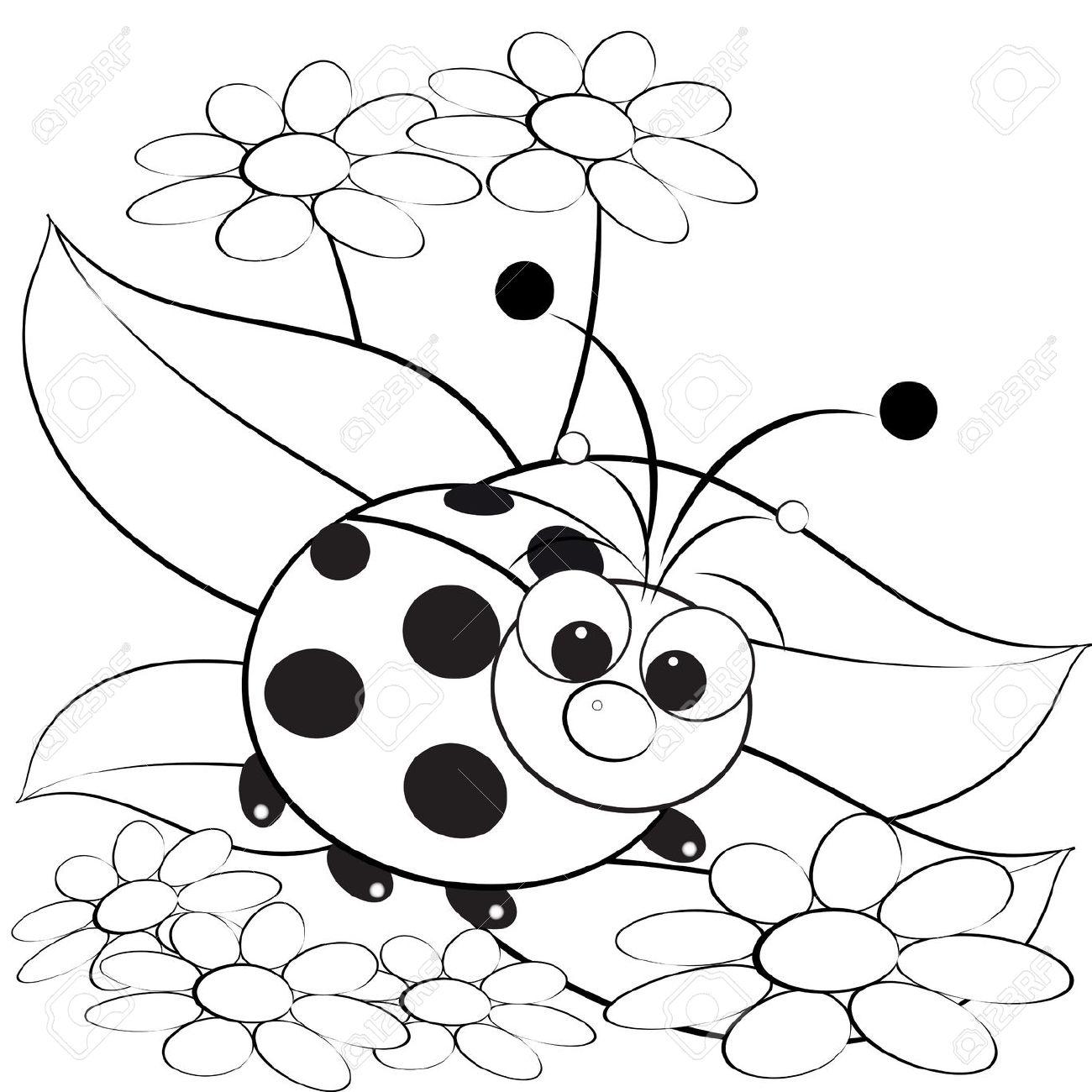 Ladybug drawings for kids - photo#40